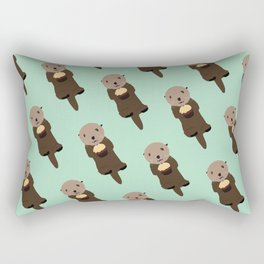 Have an Otterly Great Day! Rectangular Pillow