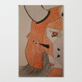 Ronin warriors kento Canvas Print