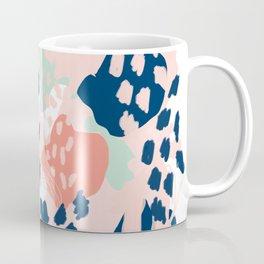 Kylie - abstract mint pastels painting boho trendy simple minimalist canvas home decor Coffee Mug