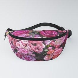 Bright Floral Design Fanny Pack