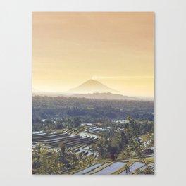 Bali Sunrise Canvas Print