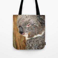 Sleepy Koala Tote Bag