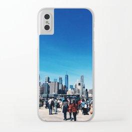 Brooklyn Views Clear iPhone Case