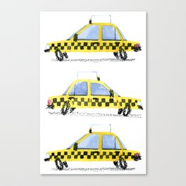 Taxis! Canvas Print