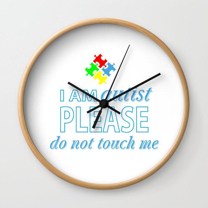 I am autist Wall Clock