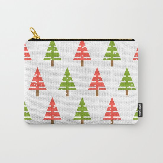Christmas tree. Carry-All Pouch