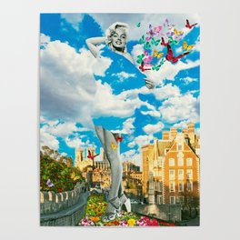 Traveling in the Clouds Poster