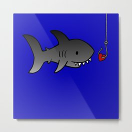 Sharkbait Metal Print
