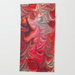 Fancy Swirls  Beach Towel