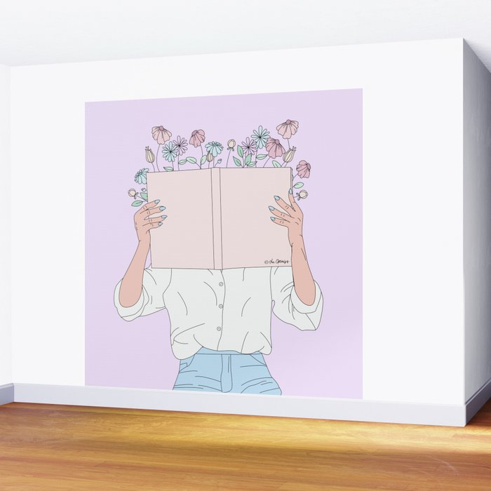 Read All About It Wall Mural