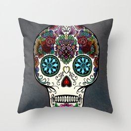 Día de Muertos Throw Pillow