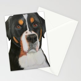 Beautiful Dog Art Stationery Cards
