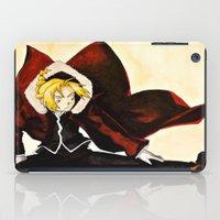 fullmetal iPad Cases featuring Fullmetal Alchemist - Edward Elric by VoicesRantOn