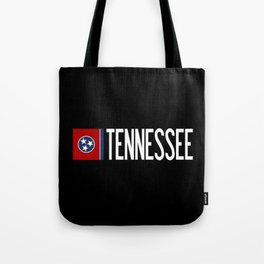 Tennessee: Tennessean Flag Tote Bag