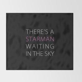 STARMAN OO2 Throw Blanket