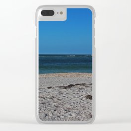 A Lovely Point of View Clear iPhone Case