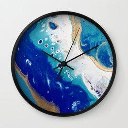 caribbean swirl Wall Clock