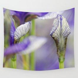 Flight of Butterflies Iris Wall Tapestry