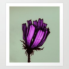 Loners Art Print