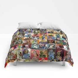 Picasso Faces Comforters