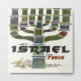 Vintage poster - Israel Metal Print