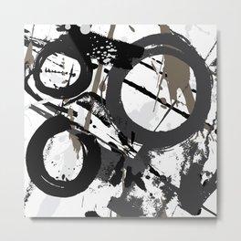 Enso Groove B by Kathy Morton Stanion Metal Print