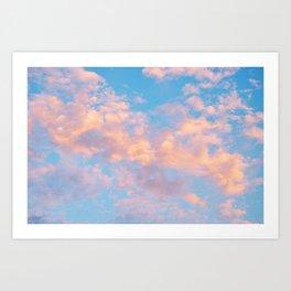Dream Beyond The Sky (no text) Art Print