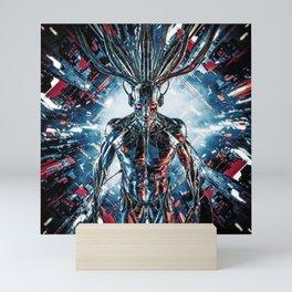 Servant Of The Machine Mini Art Print