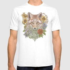 Fox Garden Mens Fitted Tee White SMALL