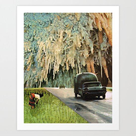 Import Export Art Print