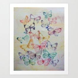 Butterflies II Art Print