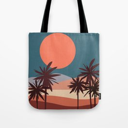 Abstract Landscape 13 Portrait Tote Bag