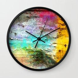 Peeling Paint #2 Wall Clock