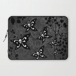 Skullerflies in the garden - dark scale Laptop Sleeve