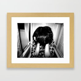 The Ghost You've Made of Me Framed Art Print