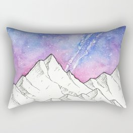 Mountains in the Evening Rectangular Pillow