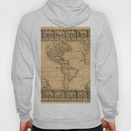 Map Of America 1776 Hoody