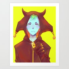 Demon Boy Art Print