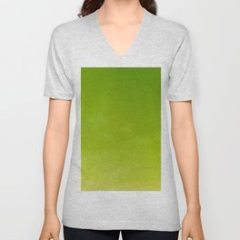 Color gradient – green and yellow Unisex V-Neck