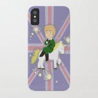hetalia iPhone & iPod Cases featuring FaeriEngland by gohe1090