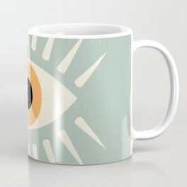 Yellow Eye Coffee Mug