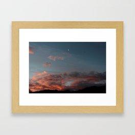Abel Tasman Sunset Framed Art Print