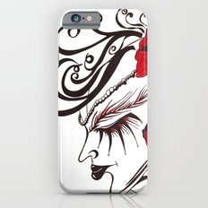 A Flowered Face Slim Case iPhone 6s
