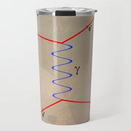 Feynman Diagram Travel Mug