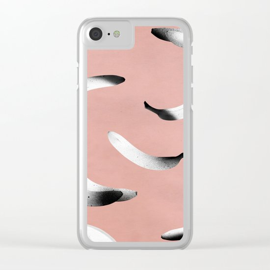 B-A-N-A-N-A-S 2.0 Clear iPhone Case