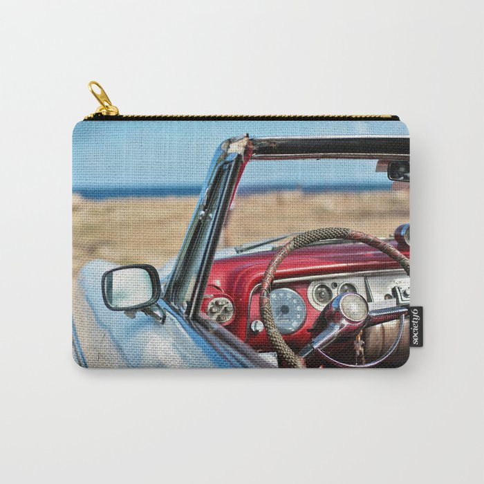 Retro automobile interior Carry-All Pouch