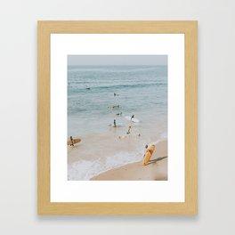 lets surf iii Gerahmter Kunstdruck