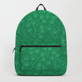 Soft & Fuzzy (Green) Backpack