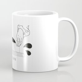 "Axian ""vinyl digging"" Coffee Mug"