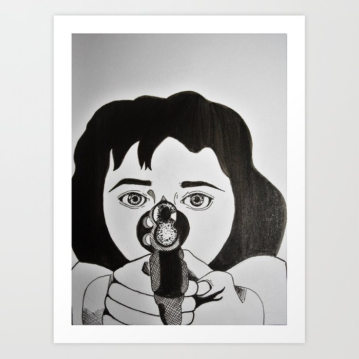 Karen Hill (Goodfellas, 1990) Art Print